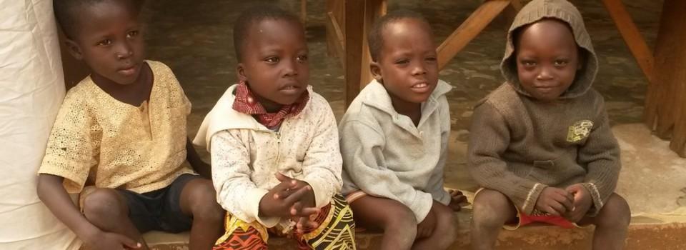 Quelques enfants de l'orphelinat de Ouidah.